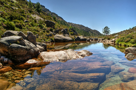 National Park of Peneda Geres in Portugal Stock Photo