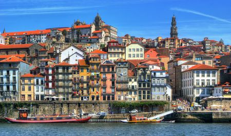 Ribeira view in Porto, Portugal Stock Photo - 64973671