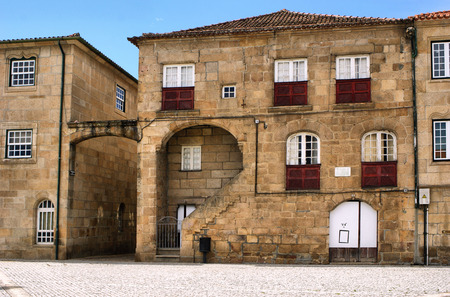 Old house of Diogo Cao, a portuguese navigator, Vila Real, Portugal Stock Photo - 70808431
