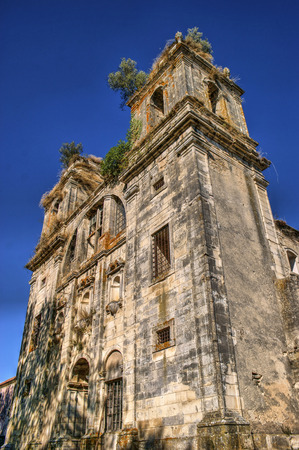 Ruined convent of Seiça, Figueira da Foz, Portugal Stock Photo - 73108571