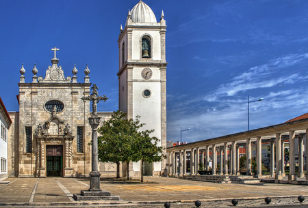 Matriz church of Aveiro, Portugal Stock Photo - 78308797