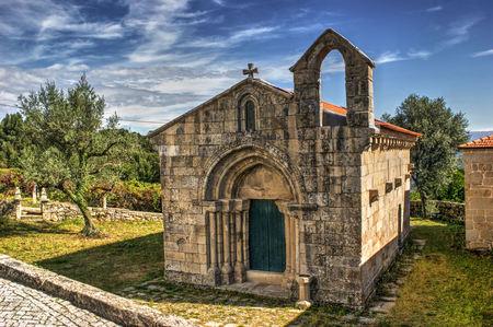 Romanesque church of Boelhe in Penafiel, north of Portugal