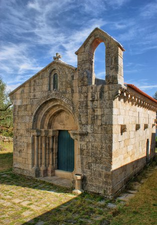 Romanesque church of Boelhe in Penafiel, north of Portugal