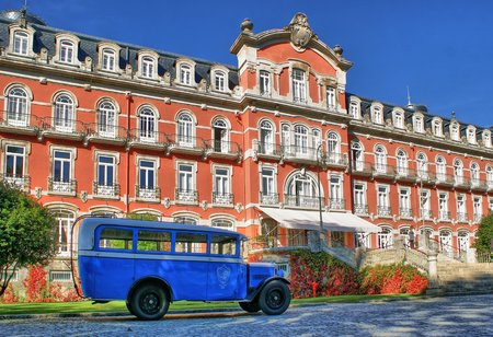 Vidago Palace Hotel in north of Portugal