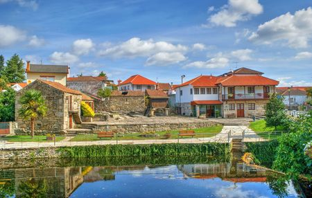 Small village of Boticas, Portugal Stock Photo