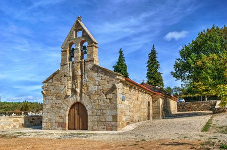 Old little church in Boticas, Portugal