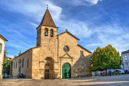 Santa Maria Maior church in Chaves, north of Portugal