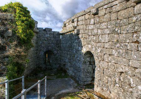 Aguiar castle in Vila Pouca de Aguiar, Portugal