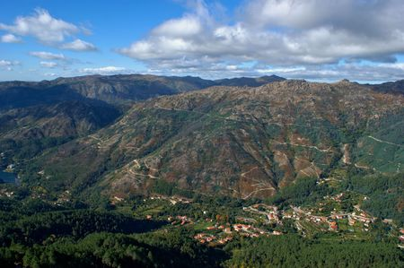 Scenic view of National Park of Peneda Geres in Portugal Banco de Imagens - 92245249