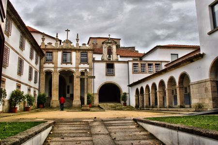 Convent Corpus Christi in Vila Nova de Gaia, Portugal Stock Photo