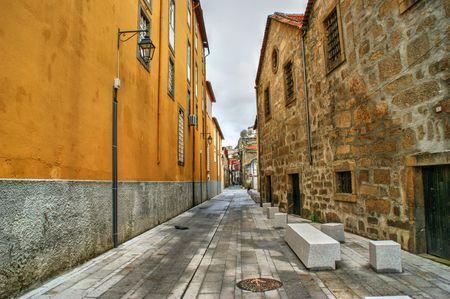 Port Wine Cellars streets in Vila Nova de Gaia, Portugal Banco de Imagens - 97832530