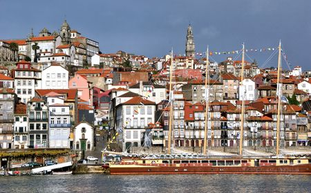 Ribeira view in Oporto
