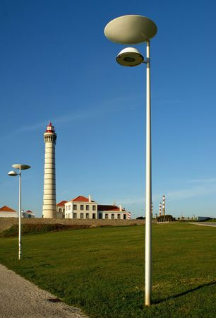 Boa Nova Lighthouse in Matosinhos, Portugal