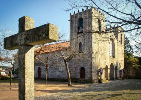 Pedroso monastery in Vila Nova de Gaia, Portugal Stock Photo
