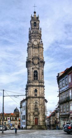 Clerigos Tower in Oporto, Portugal Editorial