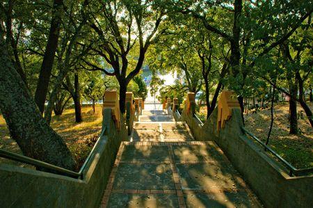Covelo park in Oporto town, Portugal Banco de Imagens
