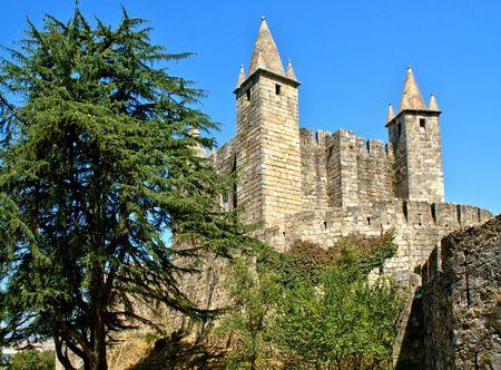 Santa Maria da feira castle, Portugal