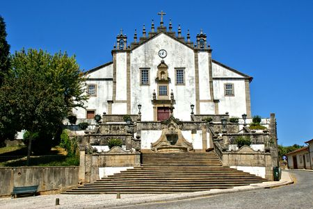 Misericordia church in Santa Maria da Feira, Portugal