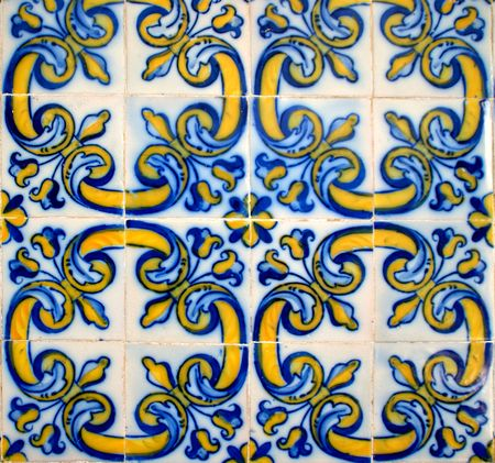 Tiles of Loios convent in Santa Maria da Feira, Portugal