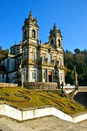 Church of Bom Jesus in Braga (Portugal) World Heritage Banco de Imagens - 128074709