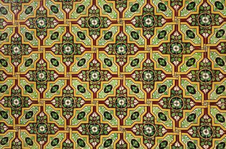 Typical tiles in Porto town, Portugal Banco de Imagens - 128074823