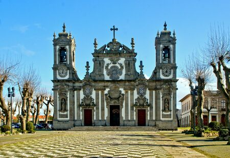 Bom Jesus de Matosinhos church in north of Portugal