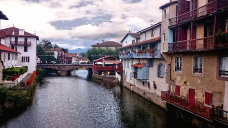 Saint Jean Pied de Port, France Stock Photo