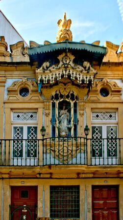 Chapel of Our Lady of Silva in Oporto, Portugal Banco de Imagens - 128074967