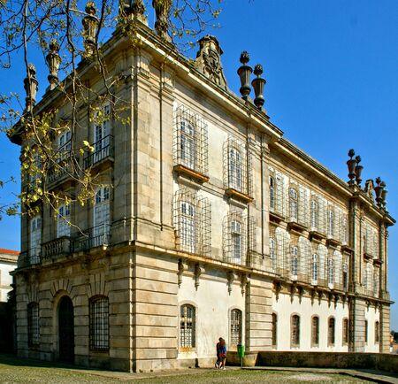 Santa Clara's Monastery in Vila do Conde, Portugal Banco de Imagens - 128074970