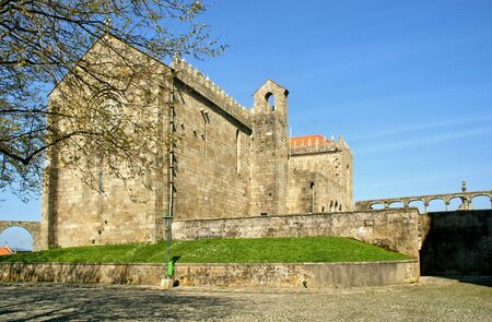 Santa Clara's Monastery in Vila do Conde, Portugal Stock Photo - 128074972