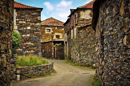 Quintadona old village in north of Portugal