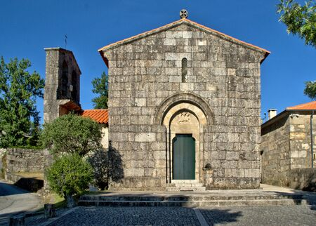 Romanesque church of Aroes (Sao Romao) in Fafe, Portugal
