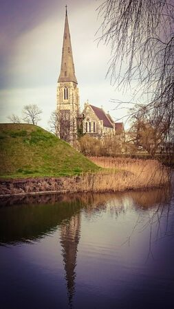 St.Alban�s church in Copenhagen, Denmark