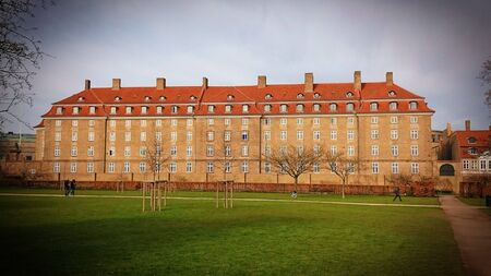 Historical bulding in Old Town of Copenhagen, Denmark Stock Photo