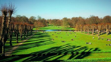 Sondermarken Frederiksberg Park in Copenhagen, Denmark