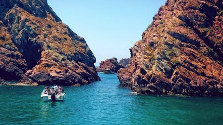 Berlengas Islands in Portugal Stock Photo
