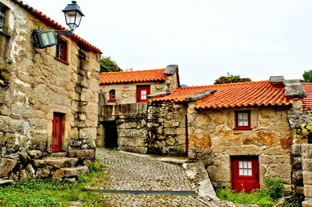 Ermelo village in Geres, north of Portugal