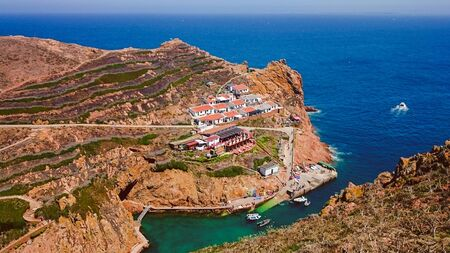 Berlengas Islands near Peniche, Portugal Stock Photo