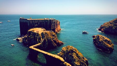 Fort of St John the Baptist in Berlenga island, Portugal