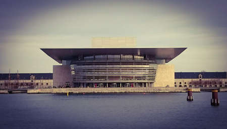 The Copenhagen Opera House in Denmark