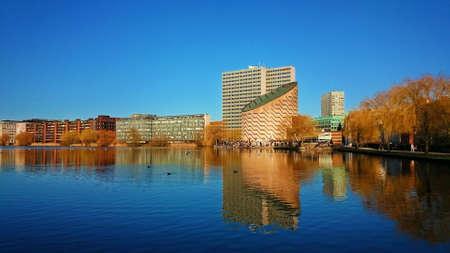 Tycho Brahe planetarium in Copenhagen in Denmark Editorial