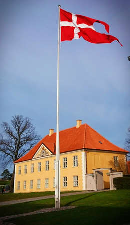 The Commander s House in Kastellet, Copenhagen, Denmark