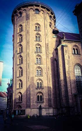 Round tower observatory in Copenhagen, Denmark