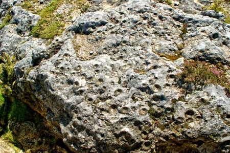 Farrowing stones (Pedras Parideiras) at the Geopark of Arouca, Portugal Banco de Imagens