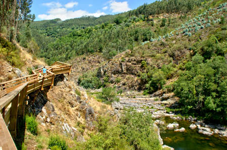 Paiva walkways in Arouca, Portugal