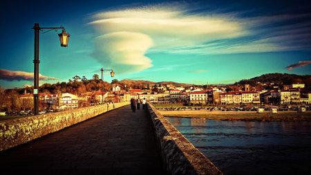 Roman and medieval bridge of Ponte de Lima, Portugal
