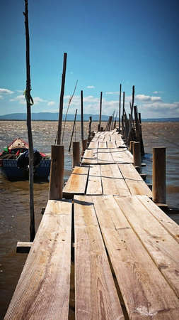 Palaphytic pier of the Carrasqueira, Portugal