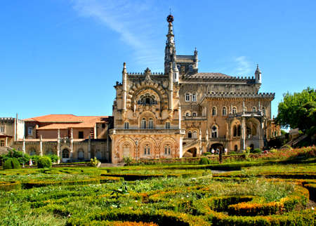 Palace Hotel of Bucaco, Portugal Editorial