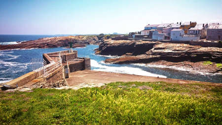 Rinlo village in Ribadeo, Galicia, Spain