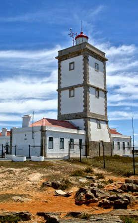 Cape Carvoeiro Lighthouse in Peniche
